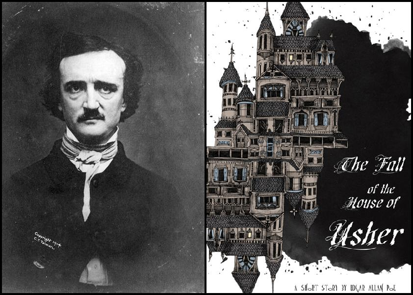 an analysis of the short story the fall of the house of usher by edgar allan poe Free essay: most readers of edgar allan poe's short story, the fall of the house of usher, will notice some obvious changes in roger corman's movie, the.