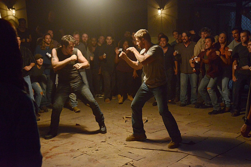 The show writers decided there would be a spontaneous fight club for an episode. So there was.