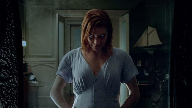 Katee Sackoff will spend a good chunk of the movie freaking you out.